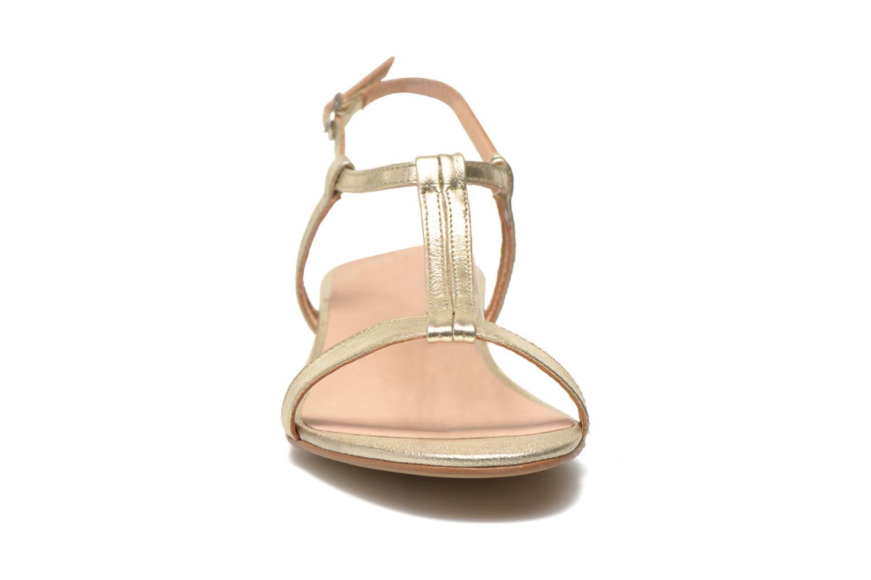 Sandales et nu-pieds Georgia Rose Etata Or et bronze vue portées chaussures
