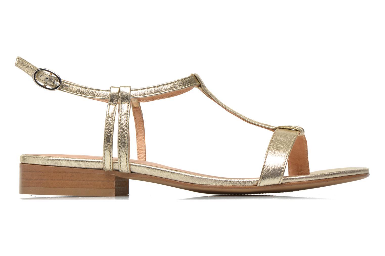 Sandales et nu-pieds Georgia Rose Etata Or et bronze vue derrière