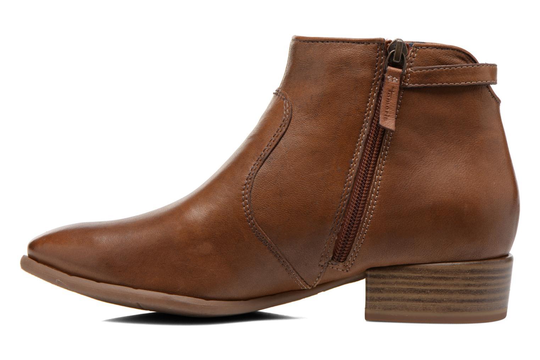 Bottines et boots Tamaris Elila Marron vue face