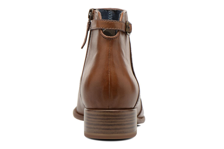 Bottines et boots Tamaris Elila Marron vue droite