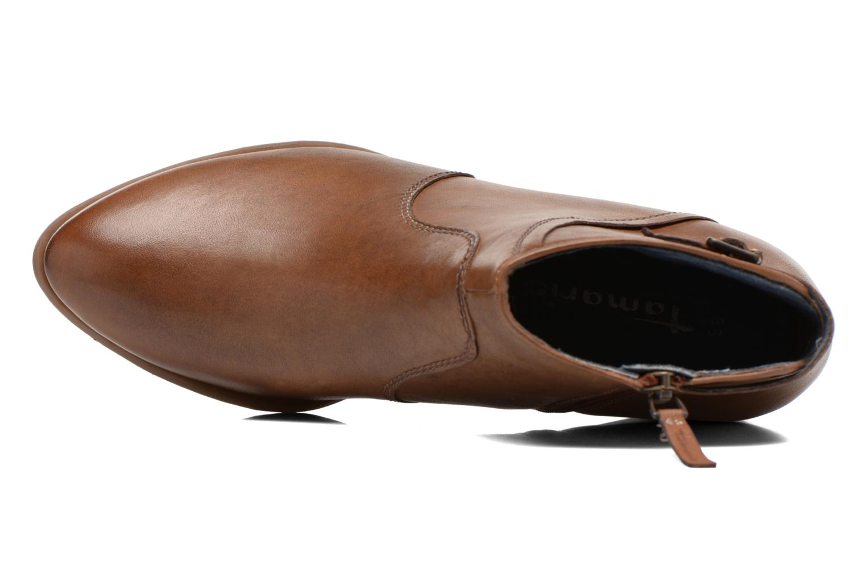 Stiefeletten & Boots Tamaris Elila braun ansicht von links