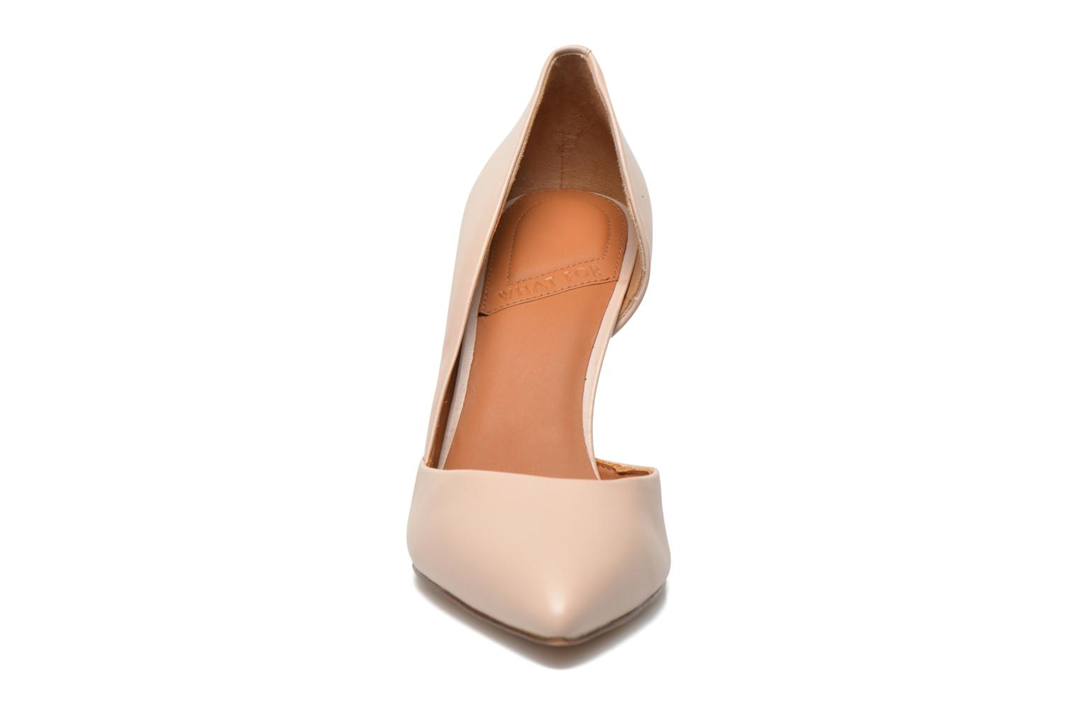 High heels What For Maney Pink model view