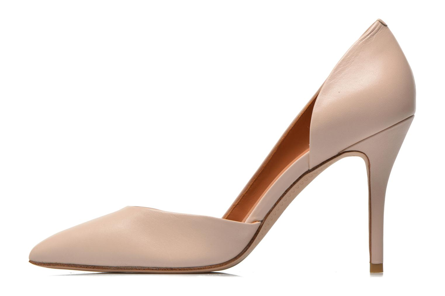 High heels What For Maney Pink front view
