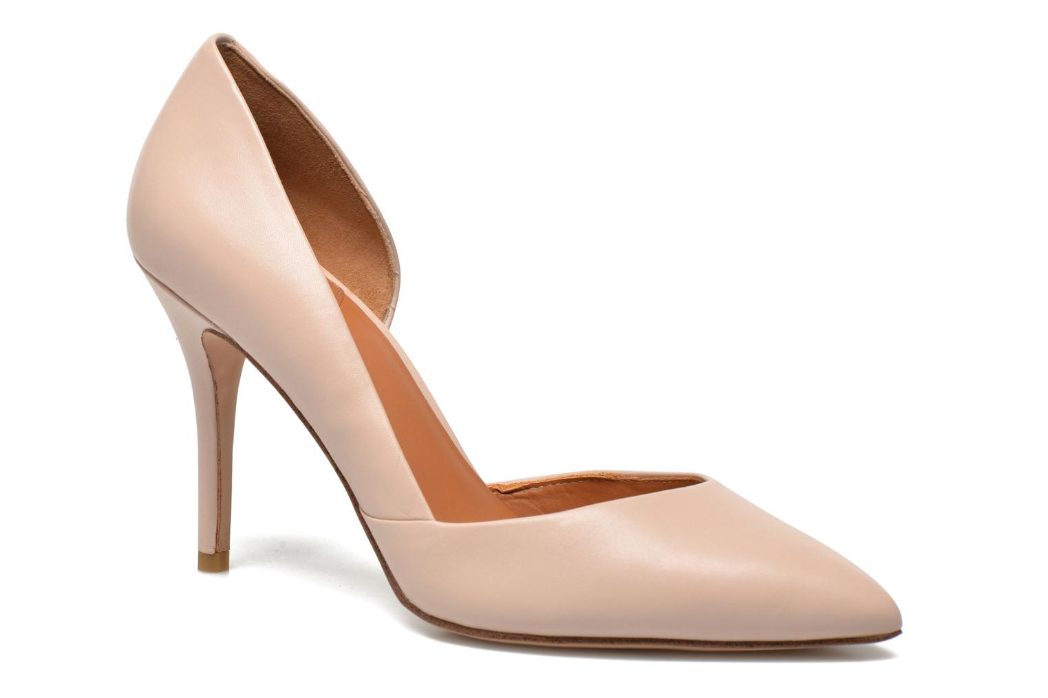 High heels What For Maney Pink detailed view/ Pair view