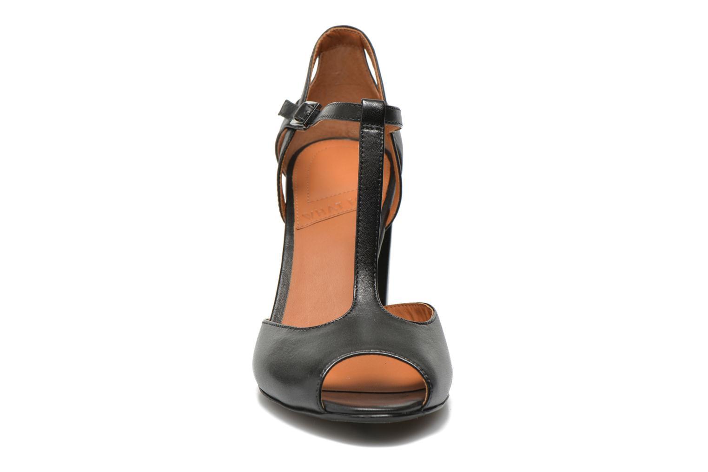 Sandales et nu-pieds What For Jimmy Noir vue portées chaussures