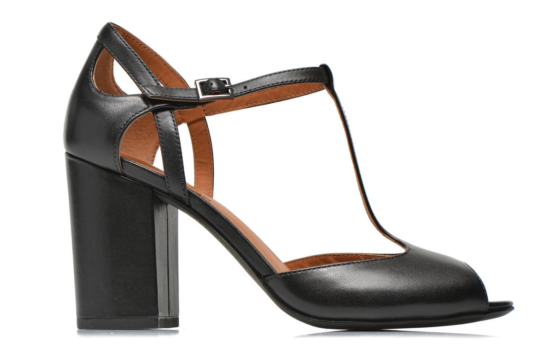 Sandales et nu-pieds What For Jimmy Noir vue derrière