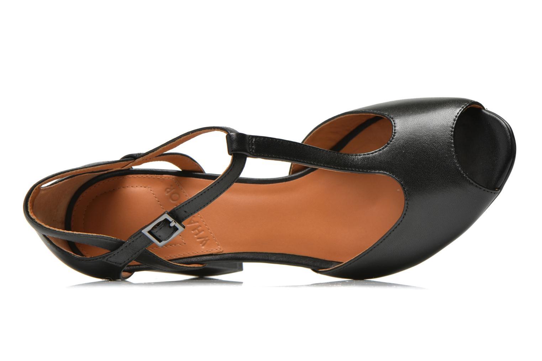 Sandales et nu-pieds What For Jimmy Noir vue gauche