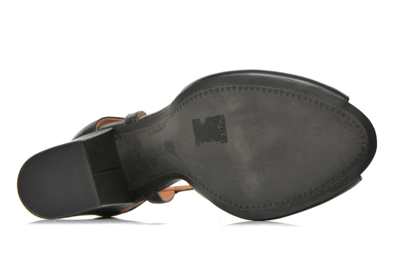 Sandales et nu-pieds What For Jimmy Noir vue haut