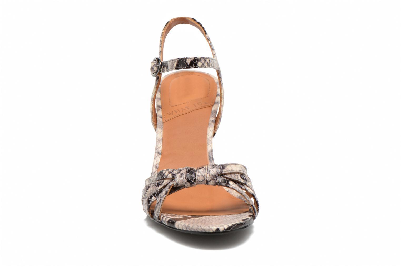 Sandales et nu-pieds What For Salsa Multicolore vue portées chaussures