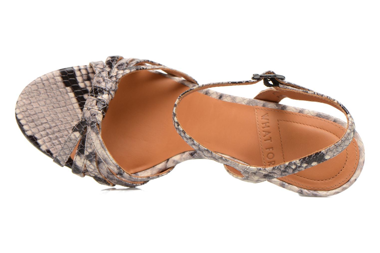 Sandales et nu-pieds What For Salsa Multicolore vue gauche