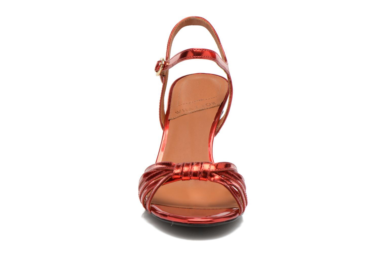 Sandali e scarpe aperte What For Salsa Rosso modello indossato