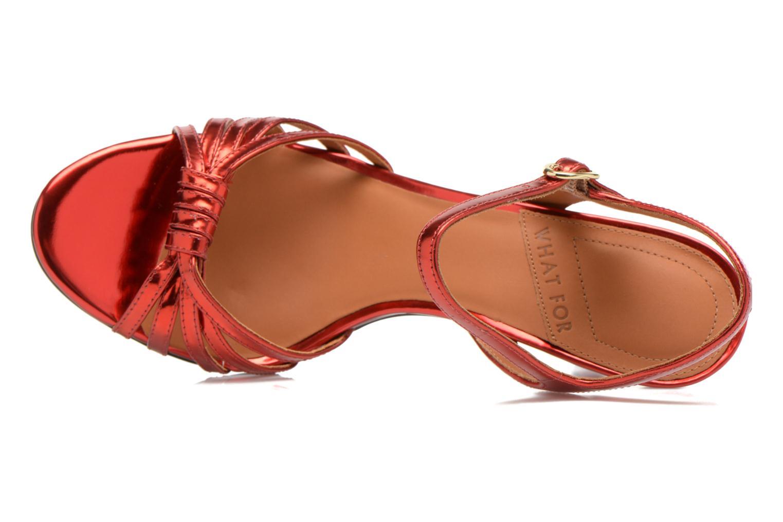 Sandali e scarpe aperte What For Salsa Rosso immagine sinistra