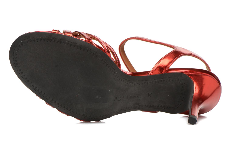 Sandali e scarpe aperte What For Salsa Rosso immagine dall'alto