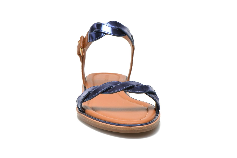 Sandali e scarpe aperte What For Julian Azzurro modello indossato