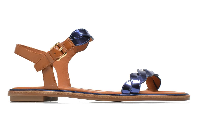 Sandali e scarpe aperte What For Julian Azzurro immagine posteriore