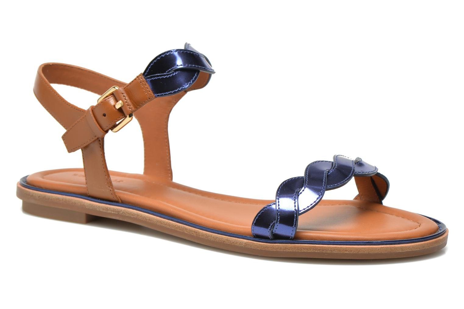 Sandals What For Julian Blue detailed view/ Pair view