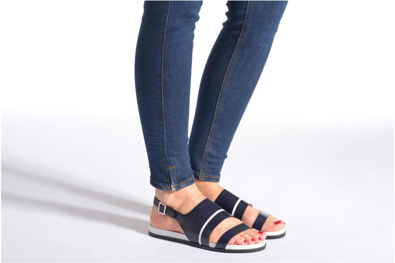 Sandales et nu-pieds What For Xenia 2 Noir vue bas / vue portée sac