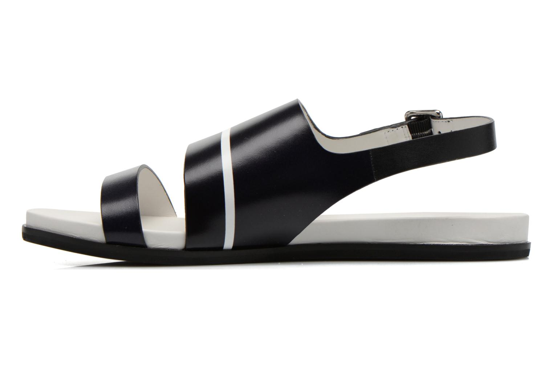 Sandales et nu-pieds What For Xenia 2 Noir vue face
