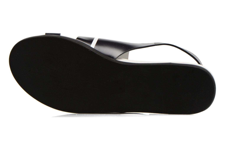 Sandales et nu-pieds What For Xenia 2 Noir vue haut