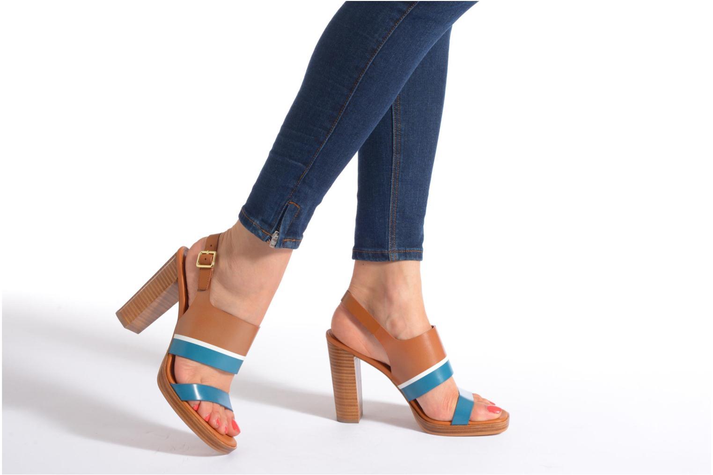 Sandales et nu-pieds What For Miller Multicolore vue bas / vue portée sac