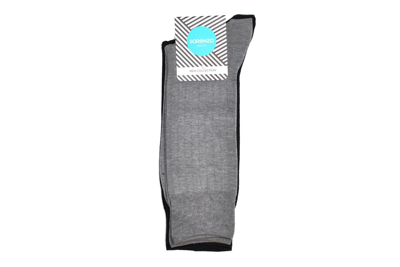 Chaussettes et collants Sarenza Wear Chaussettes fils d'écosse Pack de 2 Gris vue droite