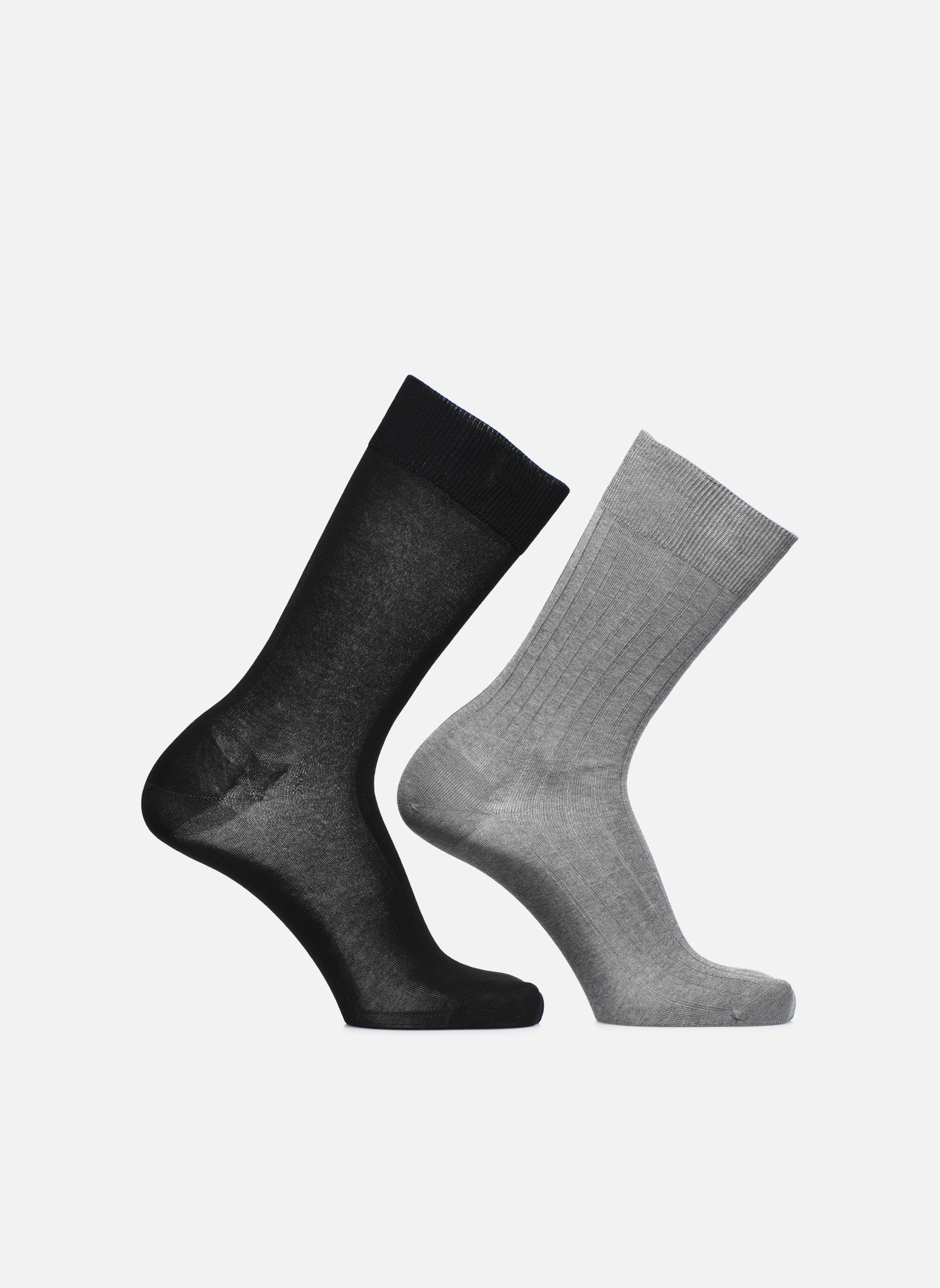 Socks fils d'écosse Pack of 2 Gris