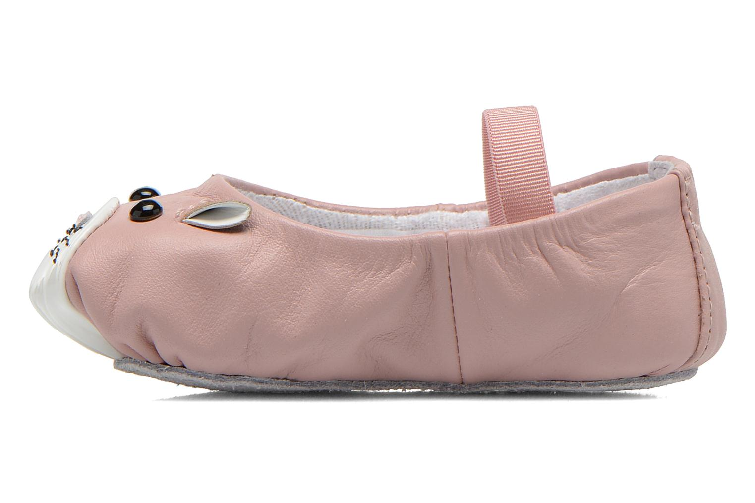 Ballet pumps Bloch Toddler Hamster Pink front view