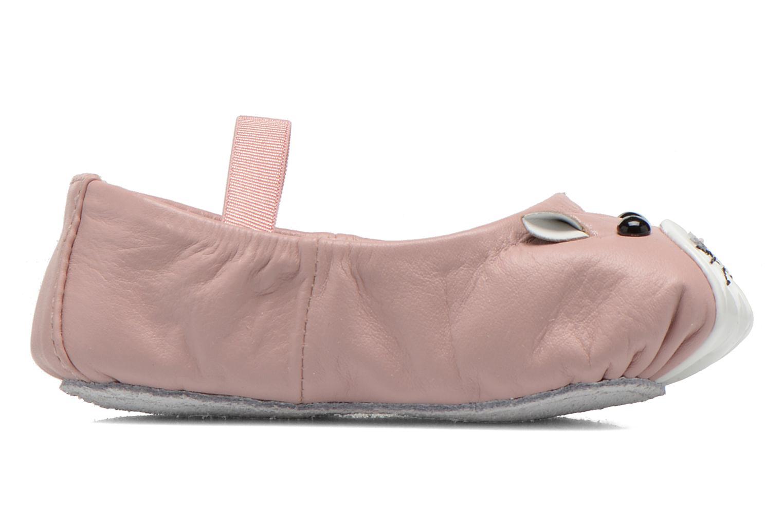 Ballerinas Bloch Toddler Hamster rosa ansicht von hinten