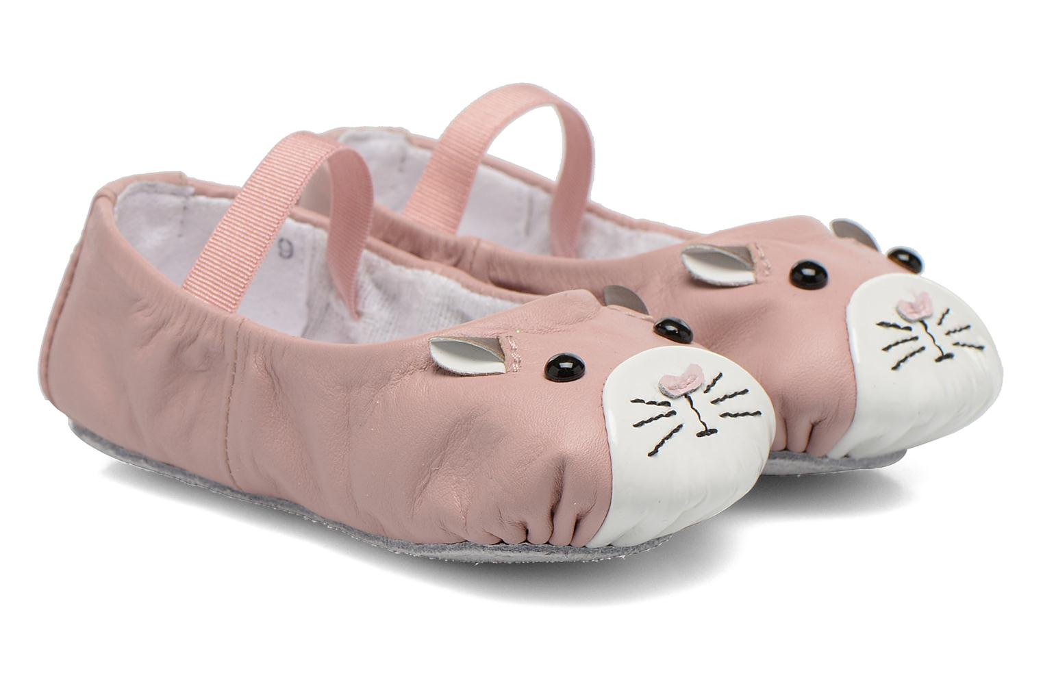 Ballet pumps Bloch Toddler Hamster Pink detailed view/ Pair view
