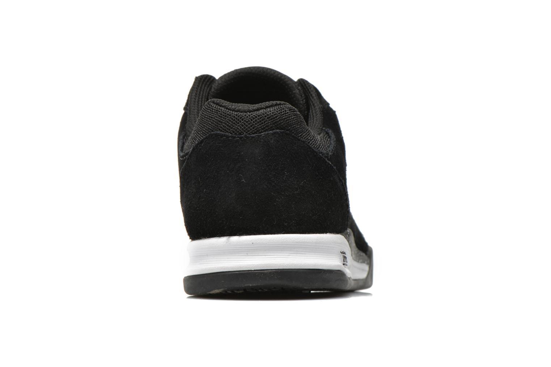 Sneaker Supra Quattro schwarz ansicht von rechts