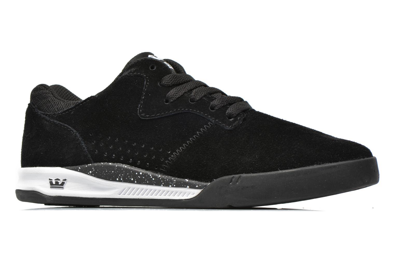 Sneaker Supra Quattro schwarz ansicht von hinten
