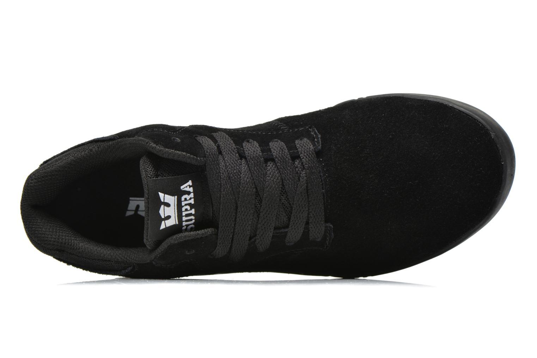 Sneaker Supra Quattro schwarz ansicht von links