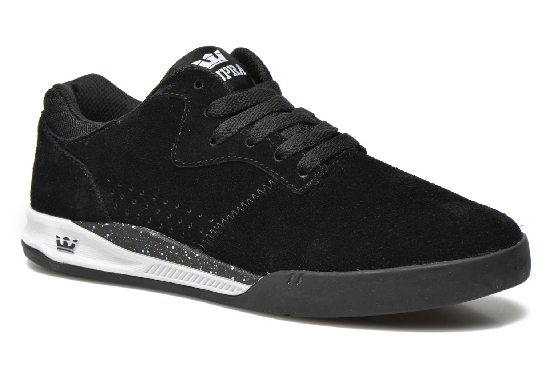Sneaker Supra Quattro schwarz detaillierte ansicht/modell