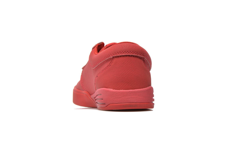 Sportschoenen Supra Hammer Rood rechts