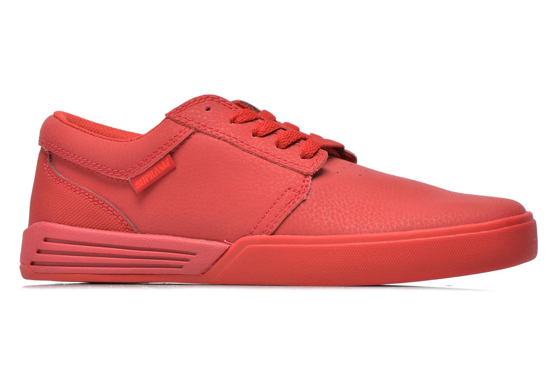 Sportschoenen Supra Hammer Rood achterkant