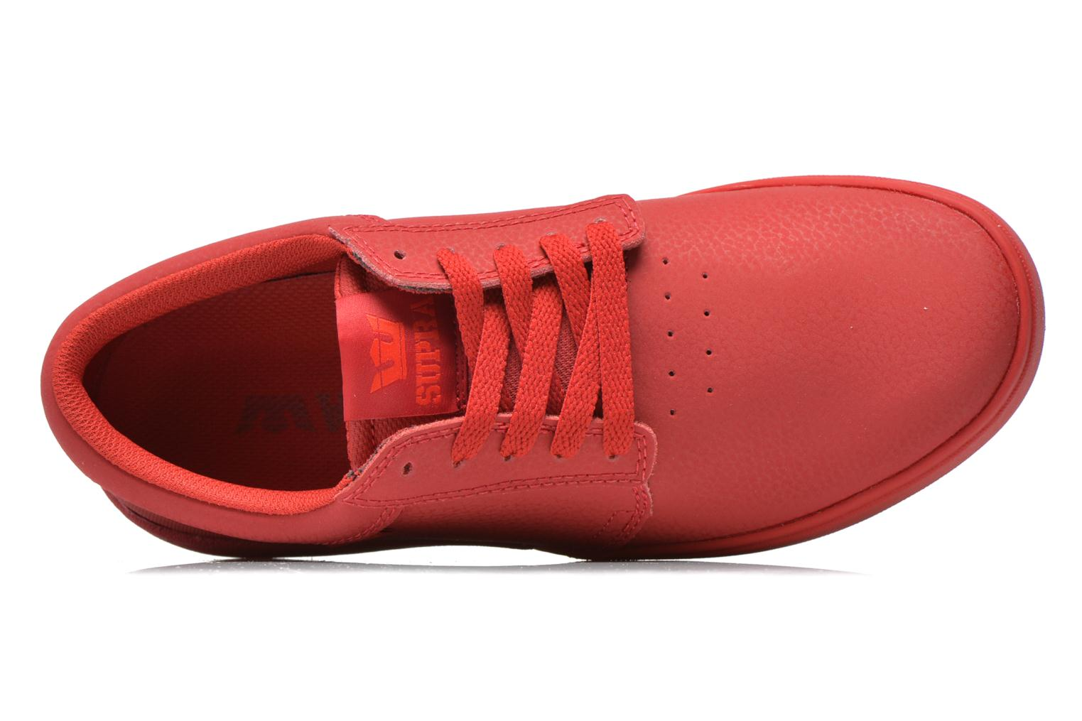 Sport shoes Supra Hammer Red view from the left