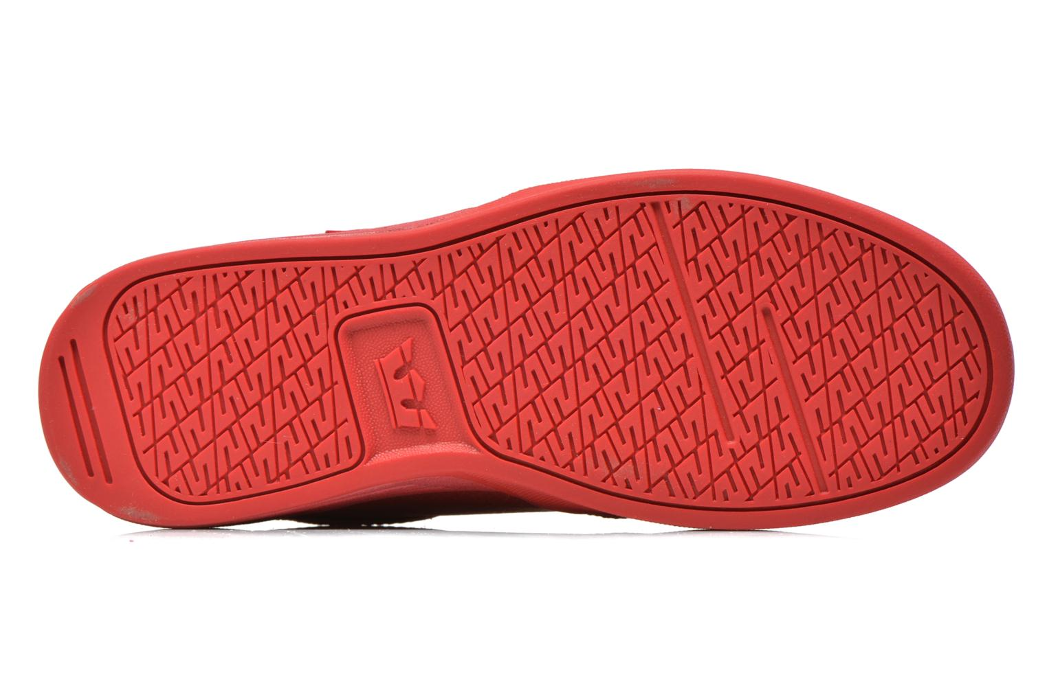 Sport shoes Supra Hammer Red view from above