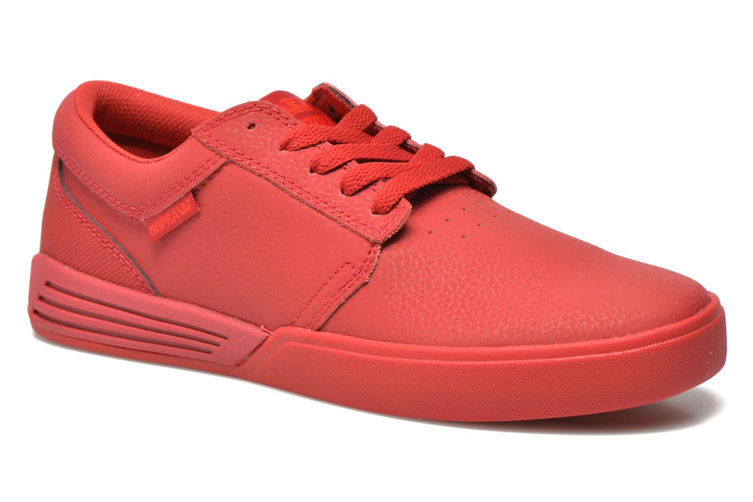 Sport shoes Supra Hammer Red detailed view/ Pair view