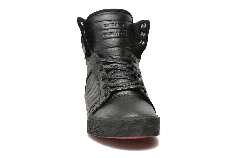 Sneaker Supra Skytop Classics schwarz schuhe getragen