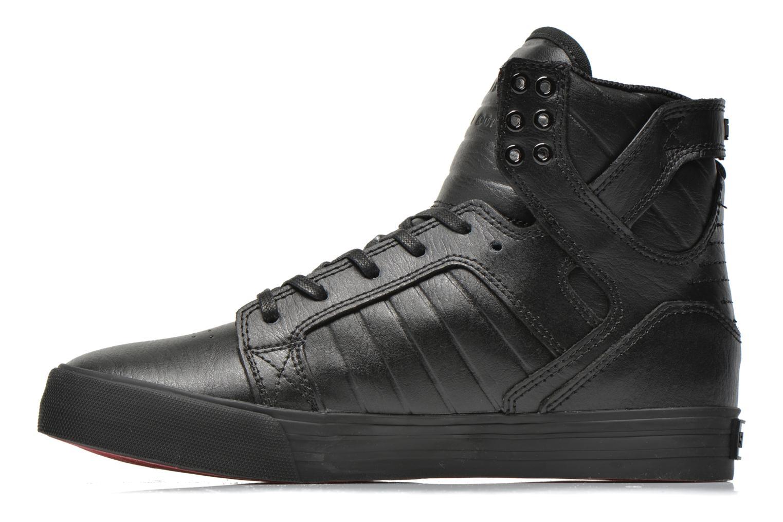 Sneaker Supra Skytop Classics schwarz ansicht von vorne