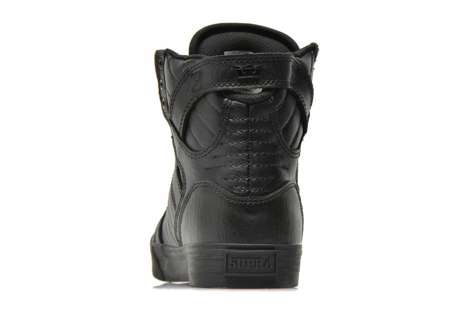 Trainers Supra Skytop Classics Black view from the right