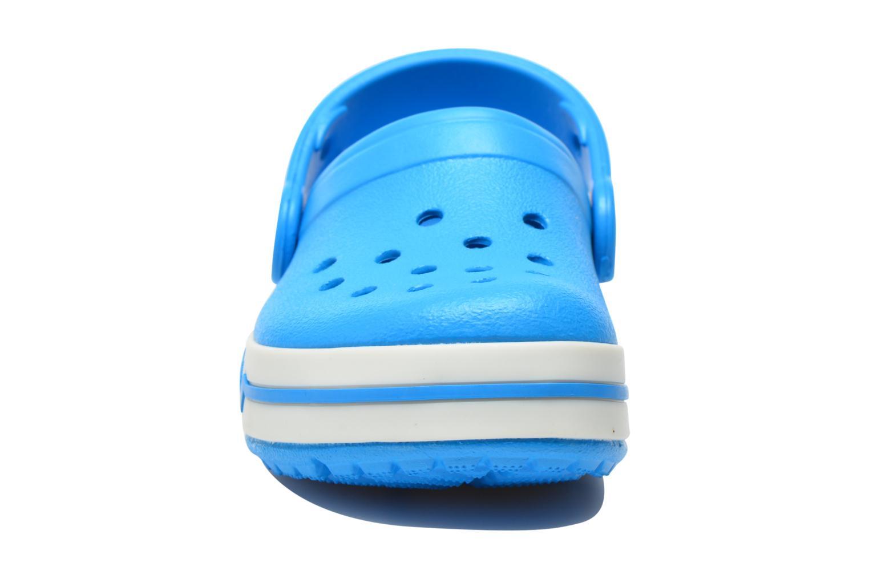 Sandales et nu-pieds Crocs CrocsLights Clog PS Bleu vue portées chaussures