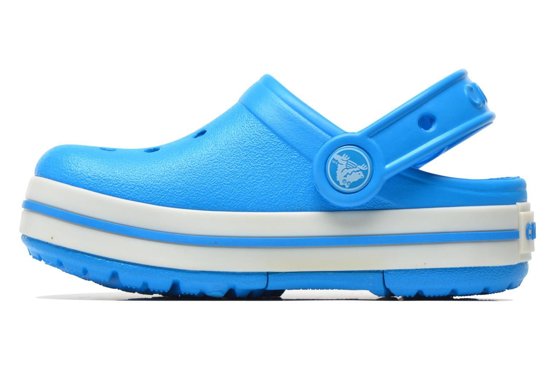 Sandales et nu-pieds Crocs CrocsLights Clog PS Bleu vue face