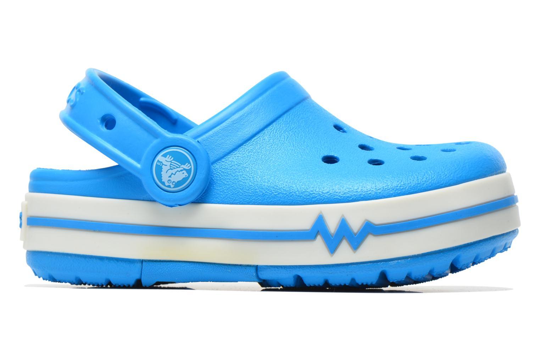 Sandales et nu-pieds Crocs CrocsLights Clog PS Bleu vue derrière