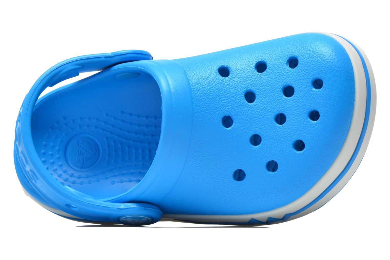 Sandales et nu-pieds Crocs CrocsLights Clog PS Bleu vue gauche