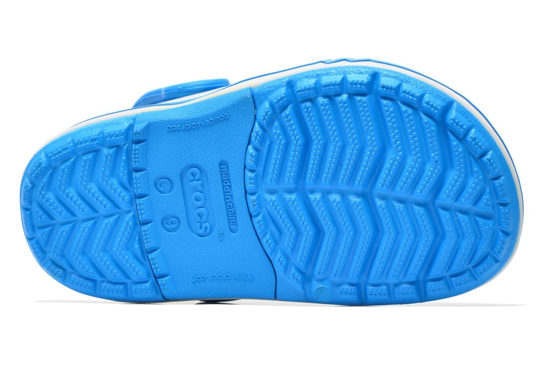Sandales et nu-pieds Crocs CrocsLights Clog PS Bleu vue haut
