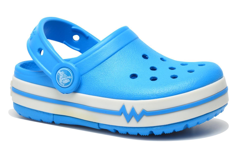 Sandales et nu-pieds Crocs CrocsLights Clog PS Bleu vue détail/paire