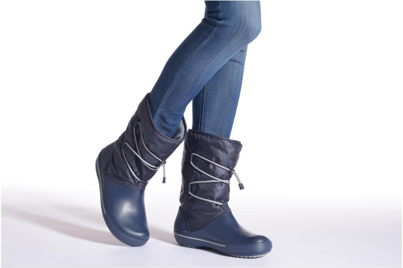 Bottines et boots Crocs Crocband II.5 Cinch Boot W Marron vue bas / vue portée sac