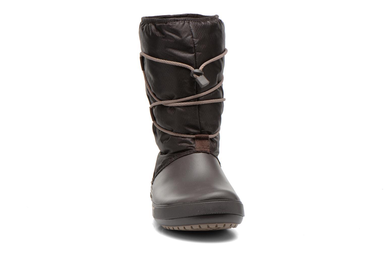 Bottines et boots Crocs Crocband II.5 Cinch Boot W Marron vue portées chaussures