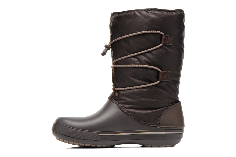 Bottines et boots Crocs Crocband II.5 Cinch Boot W Marron vue face